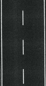Heki 6561 H0 Ulica - Jezdnia jednopasmowa, asfaltowa