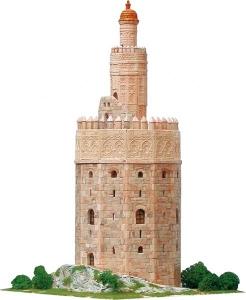 Aedes Ars 1260 Złota wieża w Sewilli 1:100