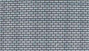 Heki 72142 Mur z szarej cegły H0/TT 50x20 cm