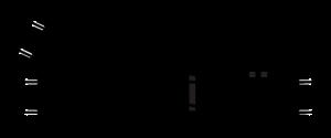 Hornby R8073 Zwrotnica prawa 168 mm, 22,5st.