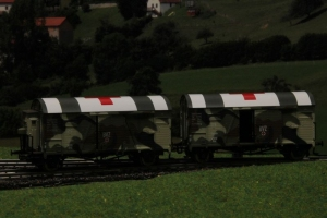 Exact-Train EX20262 Zestaw dwóch wagonów GRS, DRG Oppeln (krieg), Ep. II