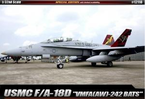 Academy 12118 USMC F/A-18D VMFA(AW)-242
