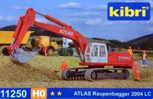 Kibri 11250 H0 Koparka gąsienicowa Atlas 2004 LC