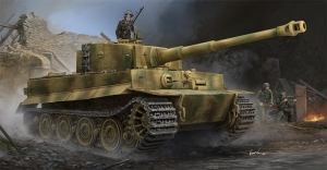 Trumpeter 09540 Pz.Kpfw.VI Ausf.E Sd.Kfz.181 Tiger 1 (Late Production) w/Zimmerit - 1:35