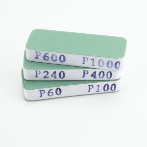 Vallejo T04004 Pilniki elastyczne dwustronne (60/100, 240/400, 600/100) 3 szt. (80x30x12mm)