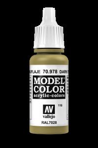 Vallejo 70978 Model Color 70978 116 Dark Yellow