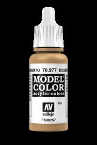 Vallejo 70977 Model Color 70977 125 Desert Yellow