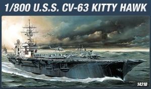Academy 14210 CV-63 USS Kittyhawk