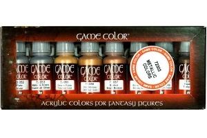 Vallejo 72303 Zestaw Game Color 8 farb - Metallic Colors