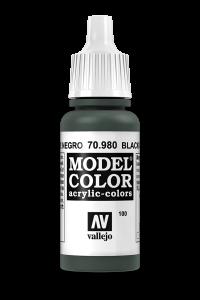 Vallejo 70980 Model Color 70980 100 Black Green