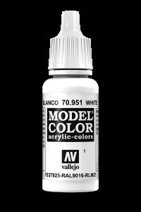 Vallejo 70951 Model Color 70951 1 White