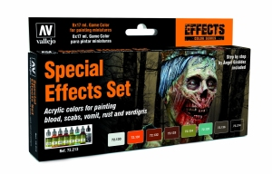 Vallejo 72213 Zestaw Game Color 8 farb - Special Effects