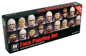 Vallejo 70119 Zestaw Model Color 8 farb - Face painting by Jaume Ortiz