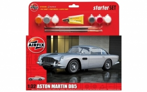 Airfix 50089B Medium Starter Set - Aston Martin DB5 Silver - 1:32