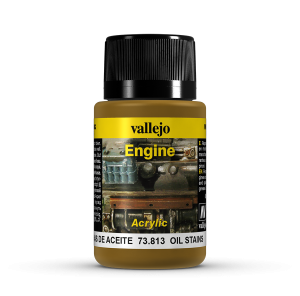 Vallejo 73813 Engine Effects 40 ml. Oil Stains
