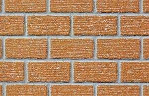 Heki 72262 Mur z cegły klinkierowej 0/1 40x20 cm