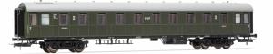 Rivarossi HRS4280 Wagon pasażerski 2 kl. PKP 20021 serii Bhxz (ex C4ü-26), st. Łódź Kaliska, Ep. IIIc