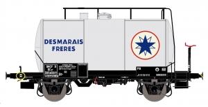 Exact-Train EX20622 Wagon cysterna 30m3 Uerdinger, 595456 Desmarais Freres, SNCF, Ep. III