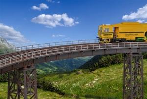 Kibri 39706 Most kolejowy stalowy - łuk