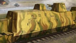 Trumpeter 01509 Wagon artyleryjski z pociągu pancernego BP-42 - 1:35