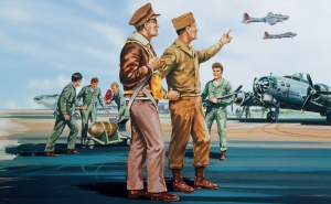 Airfix A00748V USAAF Personnel - 1:76