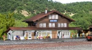 Kibri 39508 Stacja kolejowa Blausee Mitholz
