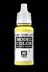 Vallejo 70949 Model Color 70949 10 Light Yellow