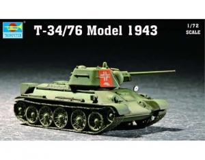 Trumpeter 07208 T-34/76 Model 1943 - 1:72