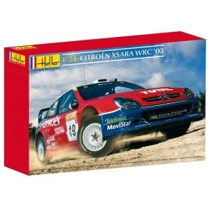 Heller 80751 Citroen Xsara WRC 2003 - 1:24