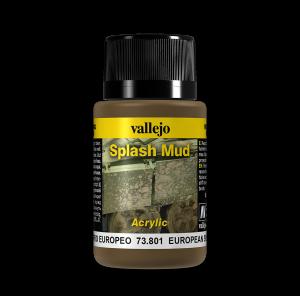 Vallejo 73801 Splash Mud 40 ml. European Mud