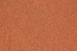 Szuter 0,1-0,6 mm, 200 g - czerwono-brązowy