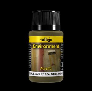Vallejo 73824 Environment 40 ml. Streaking Grime