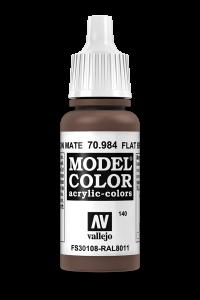 Vallejo 70984 Model Color 70984 140 Flat Brown