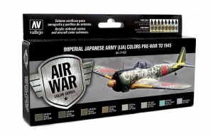 Vallejo 71152 Zestaw Air War 8 farb - Imperial Japanese Army (IJA) Colors Pre-War to 1945