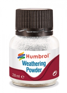 Humbrol AV0002 Pigment Weathering Powder 28 ml White
