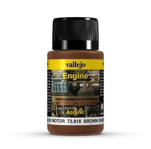 Vallejo 73818 Engine Effects 40 ml. Brown Engine Soot