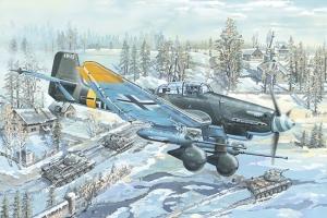 Trumpeter 02425 Junkers Ju-87G-2 Stuka - 1:24