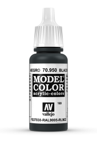 Vallejo 70950 Model Color 70950 169 Black