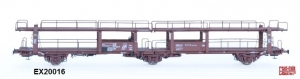 Exact-Train EX20016 Wagon do transportu samochodów Laes 542, 21 RIV 84 NS 044 4 015-6 P, S.I.T.F.A. Onnen, NS, Ep. IV