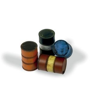 Vallejo SC204 Diorama Accessories Beczki na paliwo 1:35