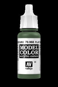 Vallejo 70968 Model Color 70968 83 Flat Green