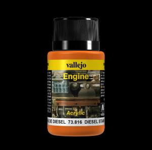 Vallejo 73816 Engine Effects 40 ml. Diesel Stains