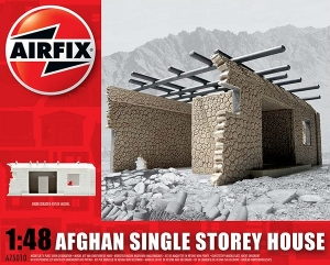 Airfix A75010 Ruiny budynku Afganistan - Chata - 1:48