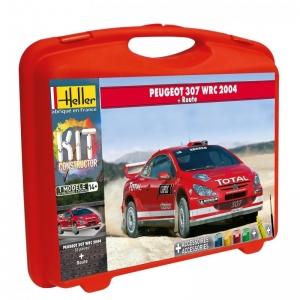 Heller 60115 Constructor Kit - Peugeot 307 WRC 2004 - 1:43