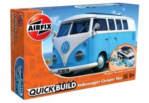 Airfix J6024 Quickbuild - VW Camper Blue