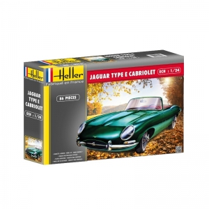 Heller 80719 Jaguar Type E L8 OTS Cabrio - 1:24