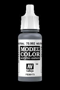 Vallejo 70992 Model Color 70992 160 Neutral Grey