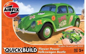 Airfix J6031 Quickbuild - VW Beetle Flower-Power