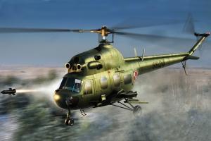 Hobby Boss 87244 Helikopter MI-2 URP Hoplite (polskie malowanie) - 1:72