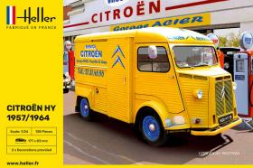 Heller 80744 Citroen HY 1957 / 1964 - 2 malowania - 1:24